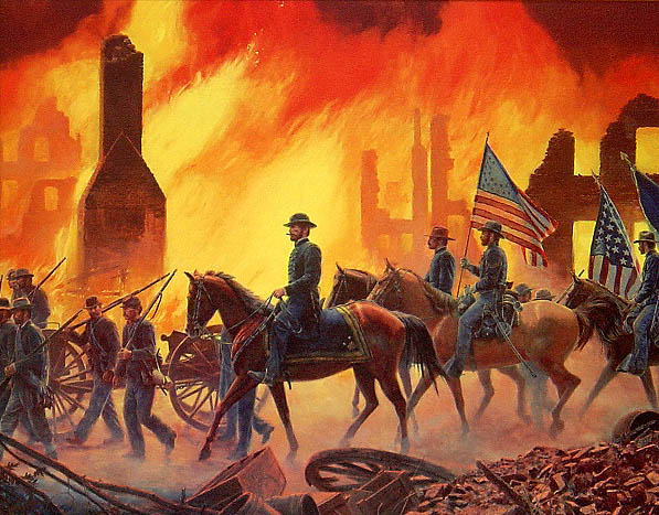 Image result for sherman's march to the sea